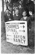 ROVILLE DEVANT BAYON - Carte Photo Carrefour D570 (N57) D9 - Other Municipalities