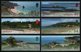 Jersey 2011 - Mi-Nr. 1590-1595 ** - MNH - Natur - Landschaften - Jersey