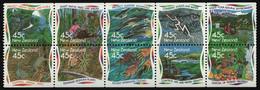 Neuseeland 1995 - Mi-Nr. 1409-1418 ** - MNH - Fauna & Flora - Unused Stamps