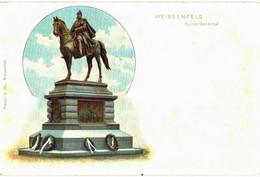 CPA N°2478 - WEISSENFELS - KAISERDENKMAL - MILITARIA - Weissenfels