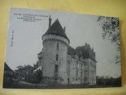 24 3052 CPA 1925 - AUTRE VUE DIFFERENTE N° 10  - 24 CHATEAU DE LANQUAIS. AU MARQUIS DE GOURGUE (COTE NORD) - Otros Municipios