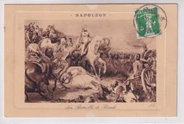 119 Bildseitig Auf Ansichtskarte (Maximumkarte) Gelaufen Ab BEX Nach Vevey (Napoleon, La Bataille De Rivoli) - Cartas