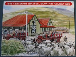 Isle Of Man,  Snaefell Mountain Railway Booklet Pane 39. Michel IM HB39. - Isola Di Man