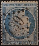 60A Obl GC 2439 Montbron (15 Charente ) Ind 5 ; Frappe Nette - 1849-1876: Klassieke Periode