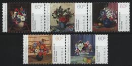 Australien 2011 - Mi-Nr. 3540-3544 ** - MNH - Blumen / Flowers - Ongebruikt
