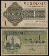 SURINAM - SURINAME 1 Gulden 1986 Pick 116i F (4)   (21178 - Altri – America