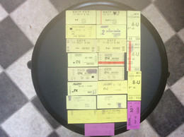 * RATP METRO RER  21 Tickets - Europe