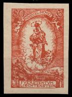 LIECHTENSTEIN 1920 Nr 41U Ungebraucht X28E0FE - Unused Stamps