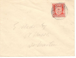 Jersey 1941, Letter Sent 04/01/1941 To St. Martin - Jersey