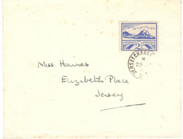 Jersey 1943, Letter Circulated Within Jersey On 08/19/1943 - Jersey
