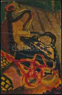 Jelzés Nélkül: Csendélet. Olaj, Papír, Vékony Kartonra Kasírozva. 21×13,5 Cm - Non Classificati