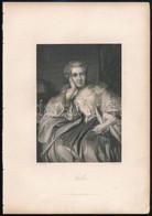 1864 2 Db Acélmetszet, A Goethe-Galerie C. Kiadvány (Lipcse, 1864, Druck Und Verlag Von F. A. Brockhaus) Illusztrációja: - Gravures