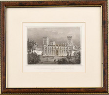 Cca 1860 Ludwig Rohbock (1820-1883) - J(ohann) Poppel (1807-1882): A Pécsi Székesegyház, Acélmetszet, Papír, Paszpartuba - Gravures