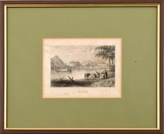 Cca 1852 Ofen & Pesth, Hildburghausen, Bibliogr. Instit., Acélmetszet, Papír, Foltos, 10x15 Cm - Gravures