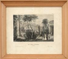 Cca 1890 Die Veste Spielberg (Mähren). Acélmetszet, Papír. Üvegezett Fa Keretben. / Spilberk Steel Engraving, Framed, 10 - Gravures