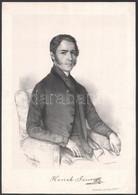 1848 Hanák János (1812-1849) áldozópap és Tanár, Zoológus, A Magyar Tudományos Akadémia Levelező Tagja. Barabás Miklós L - Gravures