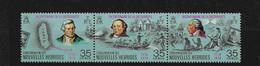 FD Nouvelles-Hébrides / New Hebrides ** 1974 394/396 Triptyque Bicentenaire Découverte - Zonder Classificatie