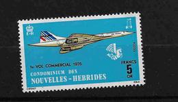 FD Nouvelles-Hébrides / New Hebrides ** 1976 424 Concorde - Zonder Classificatie
