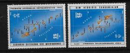 FD Nouvelles-Hébrides / New Hebrides ** 1976 432 Et 435 Assemblée - Zonder Classificatie