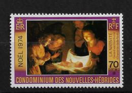 FD Nouvelles-Hébrides / New Hebrides ** 1974 405  Noel Nativité - Zonder Classificatie