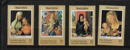 FD Nouvelles-Hébrides / New Hebrides ** 1978 541/544 Noël Tableaux De Durer Art - Zonder Classificatie