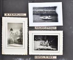 Cca 1930 A Litkei Cserkész Nagy Táborban Készített Fotókat Tartalmazó Album, 25 Fotó - Scoutisme