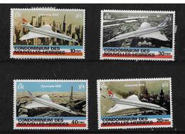 FD Nouvelles-Hébrides / New Hebrides ** 1978 527/530 Concorde - Zonder Classificatie