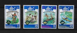 FD Nouvelles-Hébrides / New Hebrides ** 1975 410/413 Jamboree  Norvège Sport - Zonder Classificatie