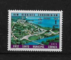 FD Nouvelles-Hébrides / New Hebrides ** 1976 436 First Santo Municipal Council - Zonder Classificatie