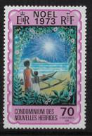 FD Nouvelles-Hébrides / New Hebrides ** 1973 375 Noël - Zonder Classificatie