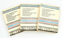 A III. Békéscsabai Nemzetközi Néprajzi Nemzetiségkutató Konferencia Előadásai. I-III. Kötet. Bp-Békéscsaba, 1986, Művelő - Non Classificati
