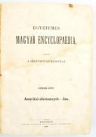 Egyetemes Magyar Encyclopaedia. II. Köt. Szerk.: Török János. Kiadja Szent-István-Társulat. Pest, 1861., Emich Gusztáv.  - Non Classificati