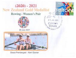 (V V 26 A) 2020 Tokyo Summer Olympic Games - New Zealand Gold Medal - 29-7-2021 - Women's Rowing - Eté 2020 : Tokyo