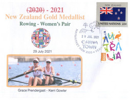 (V V 26 A) 2020 Tokyo Summer Olympic Games - New Zealand Gold Medal - 29-7-2021 - Women's Rowing - Zomer 2020: Tokio