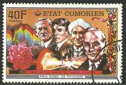 270 Comores Prix Nobel Prize Medecine (COM-64) - Prix Nobel