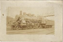 ** T3 A Magyar Királyi Államvasutak (MÁV) Gőzmozdonya / Hungarian State Railways Locomotive. Photo (vágott / Cut) - Ohne Zuordnung