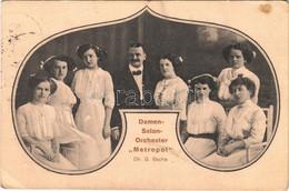 "T2/T3 1911 Damen-Salon-Orchester ""Metropol"" Dr. G. Bache / German Female Choir (EK) - Ohne Zuordnung"
