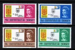 GB JERSEY - 1969 JERSEY POST OFFICE INAUGURATION SET (4V) FINE MNH ** SG 30-33 - Jersey