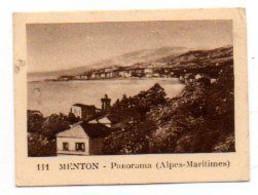 Publicité Pour Les JAMBONS, SAUCISSONS, ... Julien Damoy : Photo De MENTON, Panorama. - Chocolat