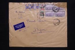 ALGÉRIE - Enveloppe De Alger Pour Dijon En 1952, Affranchissement Varié, Voir état - L 102924 - Covers & Documents