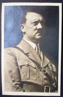 DR Progagandakarte Hitler In Uniform Rückseitig Sondermarke Mit SST Wien - Ganzsachen