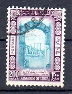 LIBYE 1966; Monuments De Libye- Arc De Trajan à Leptis Magna; YT 278, Oblitéré, Lot 45924 - Libye