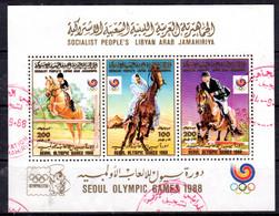 Libye; 17.9.1988; Cavallier Arabe . YT BF No. 77; Oblitéré; Lot 51259 - Libye
