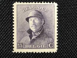 1919.Albert L.MNH.Roi Casque.T.B.! 1 Pièce. - 1919-1920 Roi Casqué