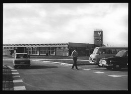 DDR Mehrbild AK Um 1973 Aussenansicht Autobahn Raststätte Wilsdruff Kreis Freital Schöne Alte DDR Auto Oldtimer - Andere