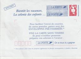 COLONIE DE VACANCES  BRIAT - Buste Ristampe (ante 1955)
