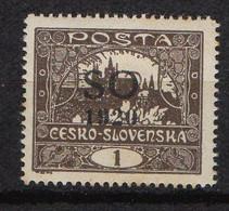 SILESIE ORIENTALE  ( POSTE ) : Y&T  N° 19  TIMBRE  NEUF  AVEC  TRACE  DE  CHARNIERE . A  SAISIR . - Silesia (Alta & Baja)