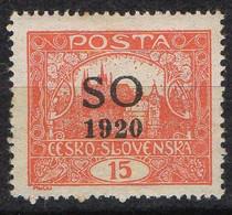 SILESIE ORIENTALE  ( POSTE ) : Y&T  N° 22  TIMBRE  NEUF  AVEC  TRACE  DE  CHARNIERE . A  SAISIR . - Silesia (Alta & Baja)