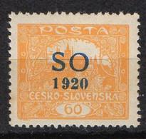 SILESIE ORIENTALE  ( POSTE ) : Y&T  N° 26  TIMBRE  NEUF  AVEC  TRACE  DE  CHARNIERE . A  SAISIR . - Silesia (Alta & Baja)