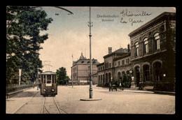57 - THIONVILLE - DIEDENHOFEN - BAHNHOF - CARTE COLORISEE - Thionville